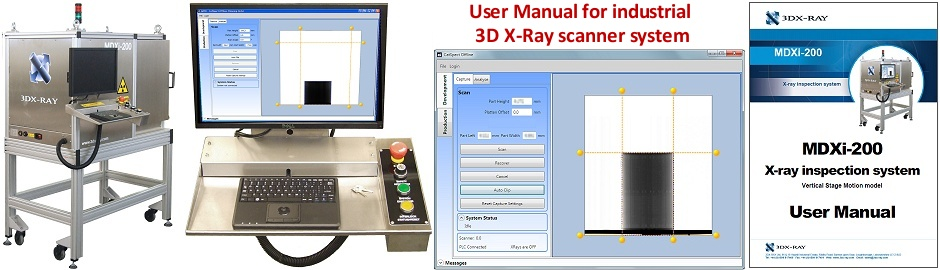 3D X-Ray Scanner Manual