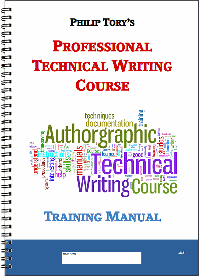 Free Professional Tech Author Training Course